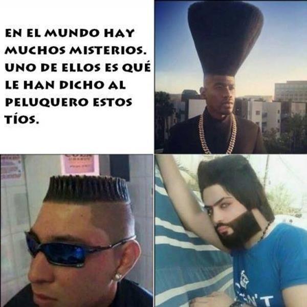 Peluquero - meme