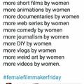 More by women
