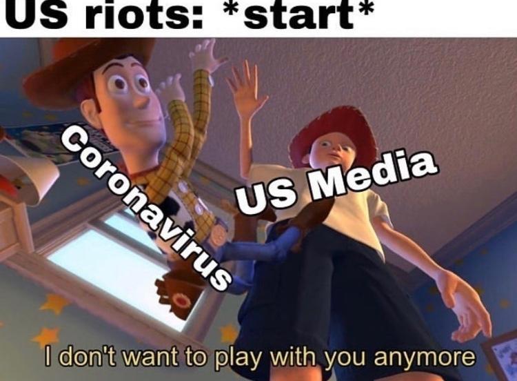 RIP COVID - meme