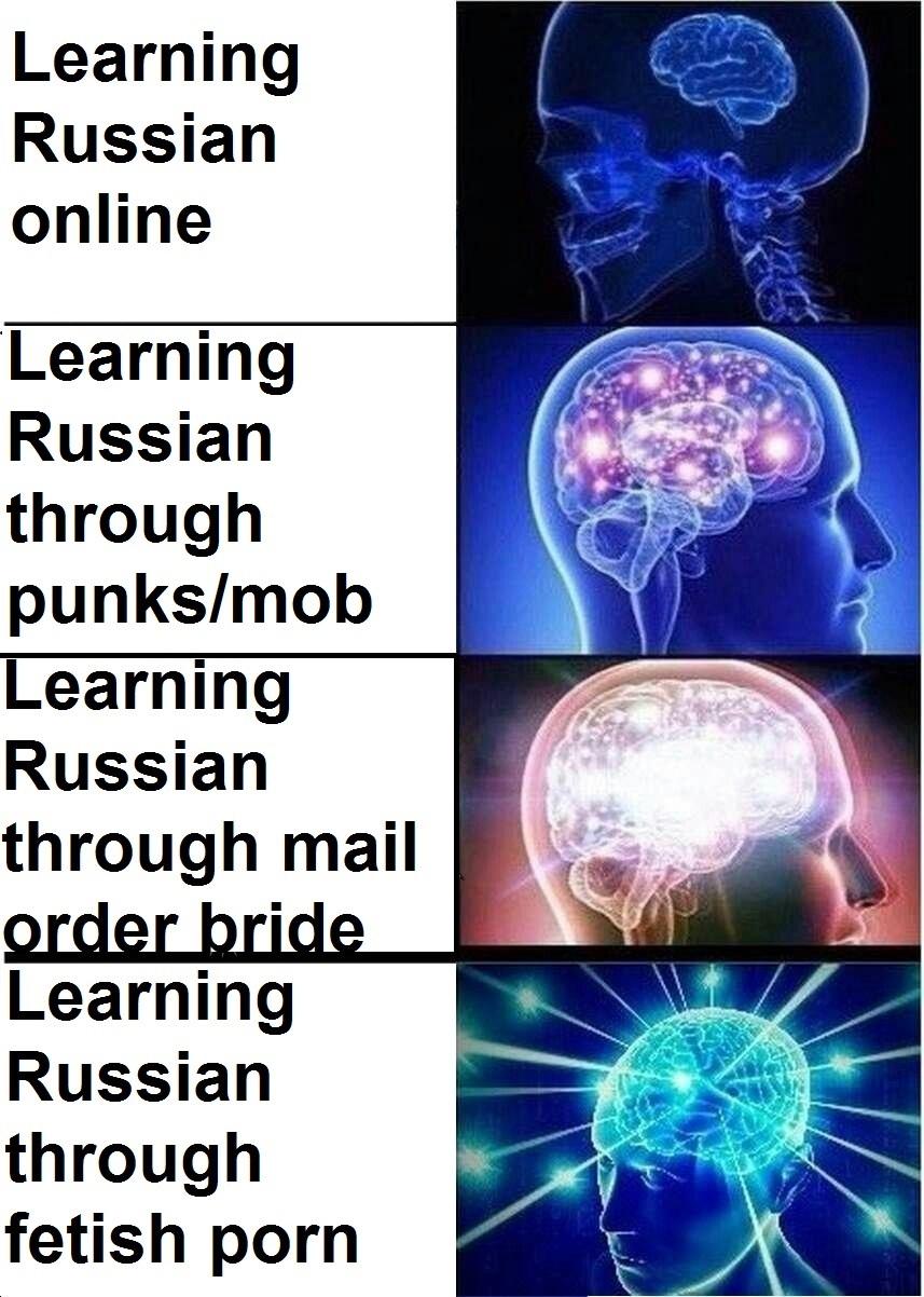 Learning Russian - meme