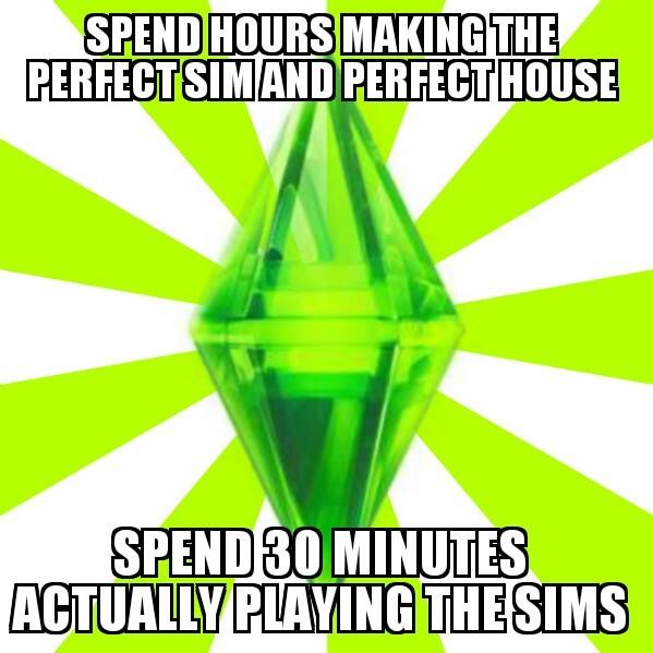 Sims logic - meme