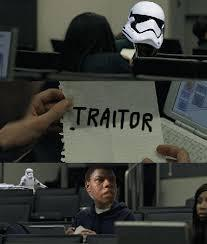 xD y pensar que ese stormtrooper se hizo más famoso que Phasma ajajajaj - meme