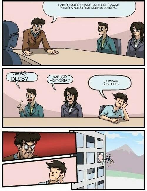En las oficinas de Ubisoft... - meme