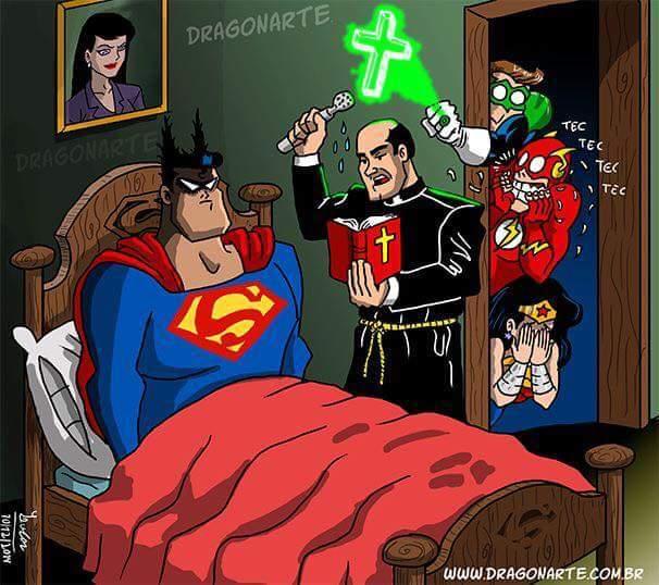 The power of Batman compels you. - meme