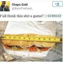 Subway - meme