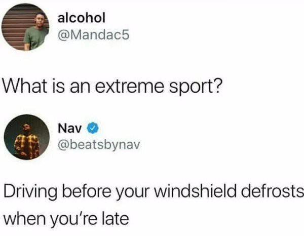 Extreme Sports - meme