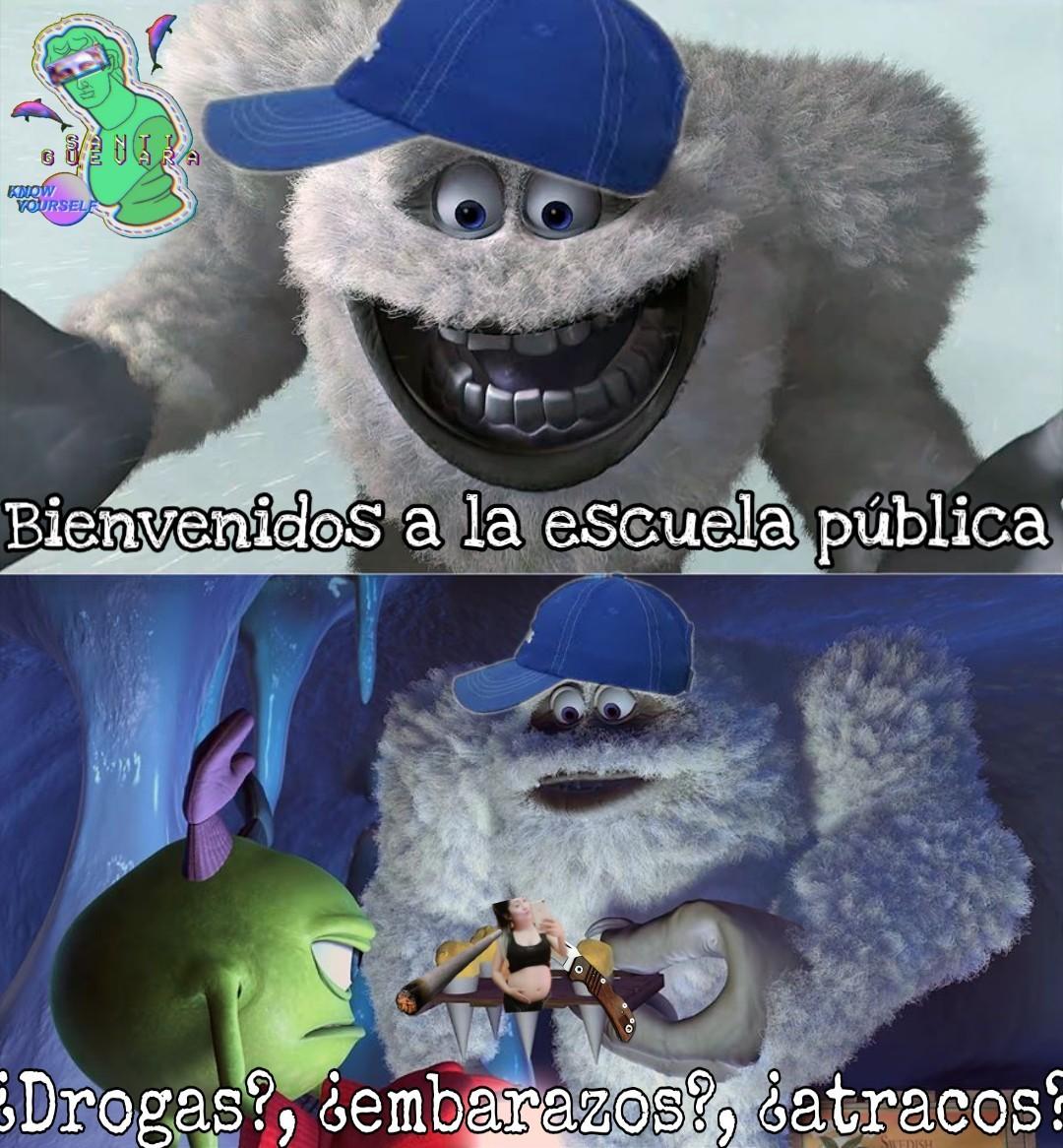 Peligro - meme