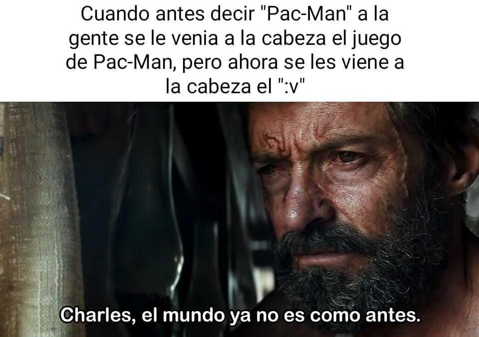 Pac-Man :v - meme