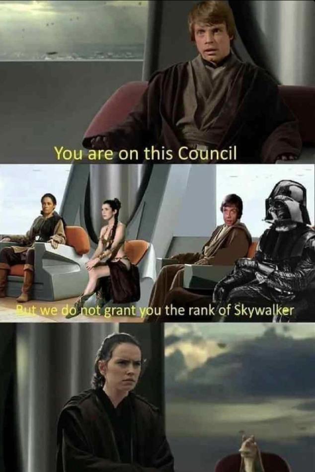 Take a seat, young Palpatine. - meme