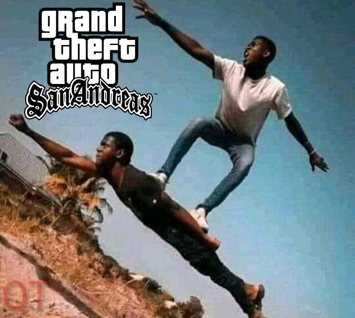 Momento San Andreas - meme