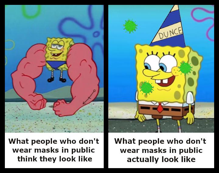 Wear a mask - meme