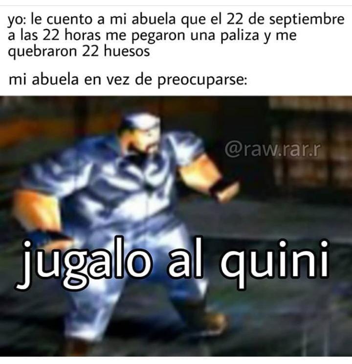 Dou gane 2 pesos - meme