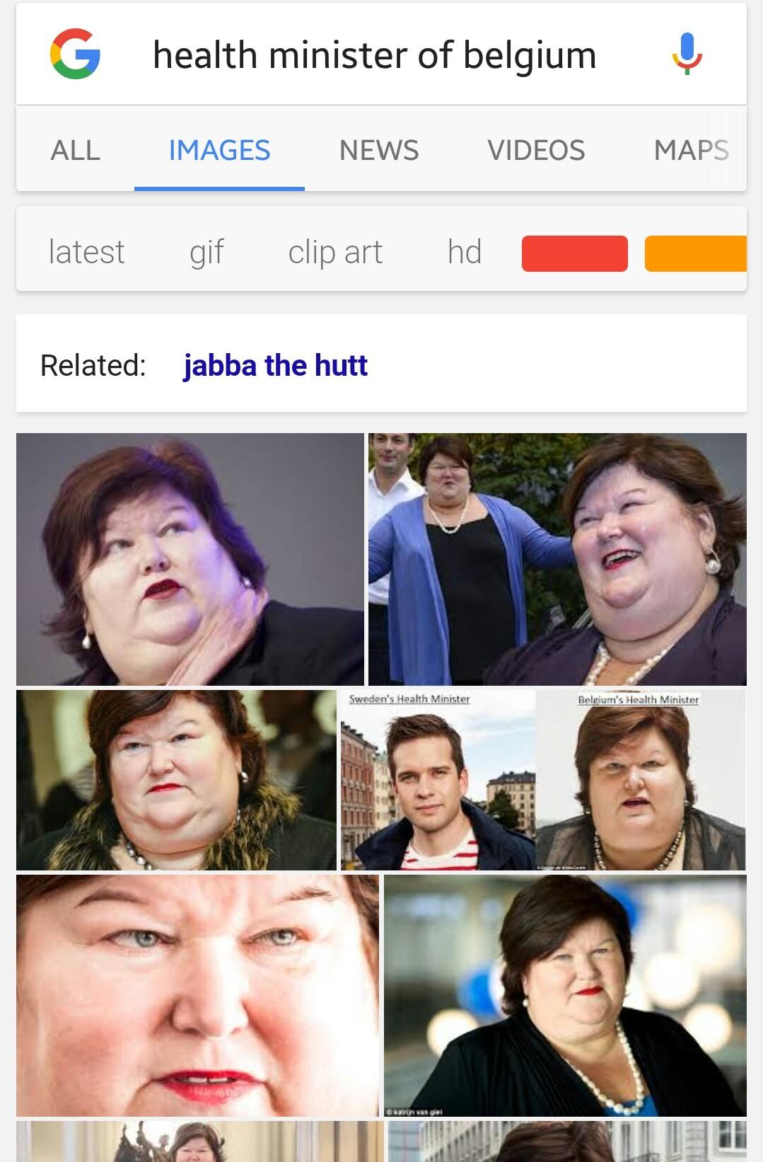 Health Minister of Belgium - meme