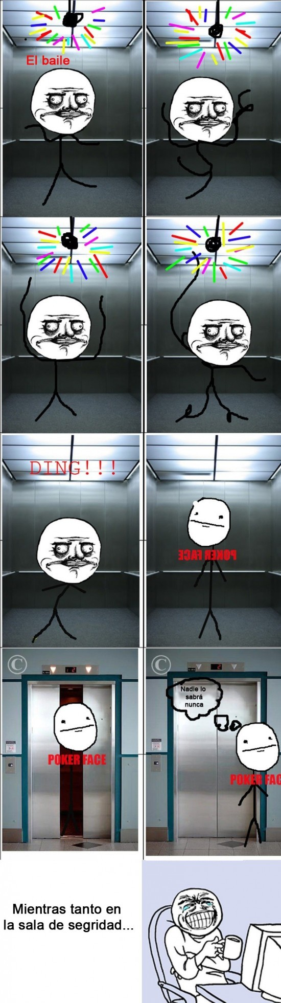 Bailes en secreto - meme