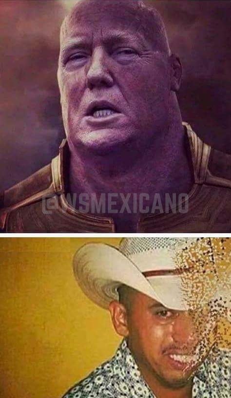 I can change the landscape of America with a snap of my fingers - meme