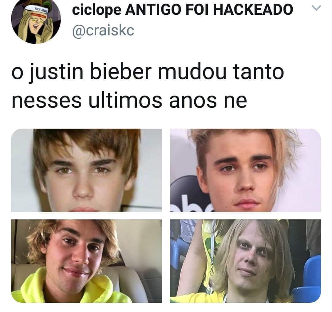 Justin bieber evolution - meme