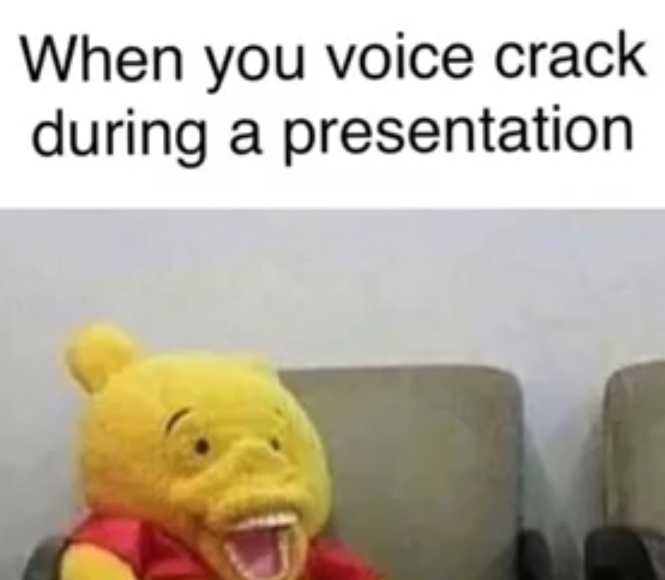 Voice crack - meme