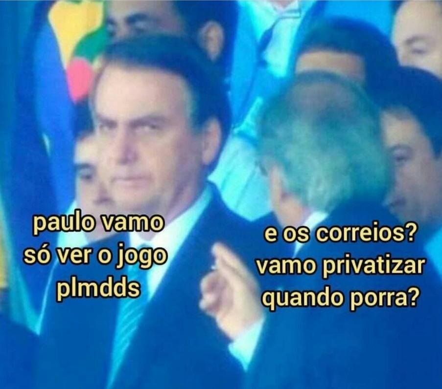 Bolonoro, faz o que o Gaulo Pedes quer. Ninguém aguenta mais pacote preso em Curitiba. - meme