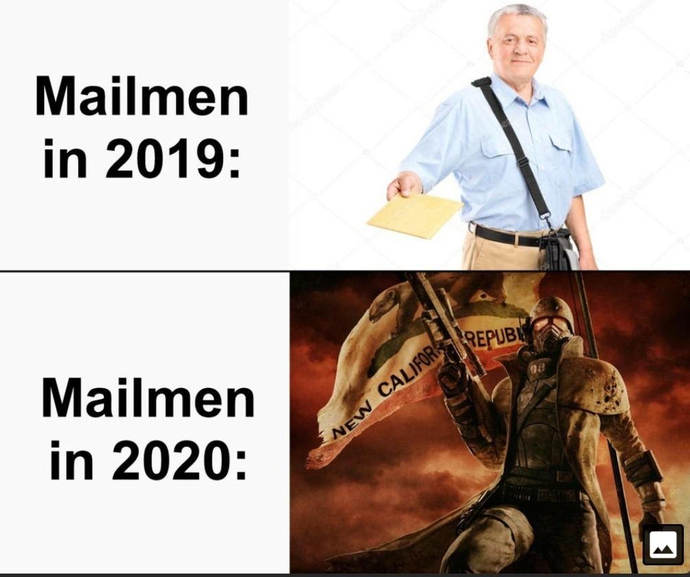Mail's here - meme
