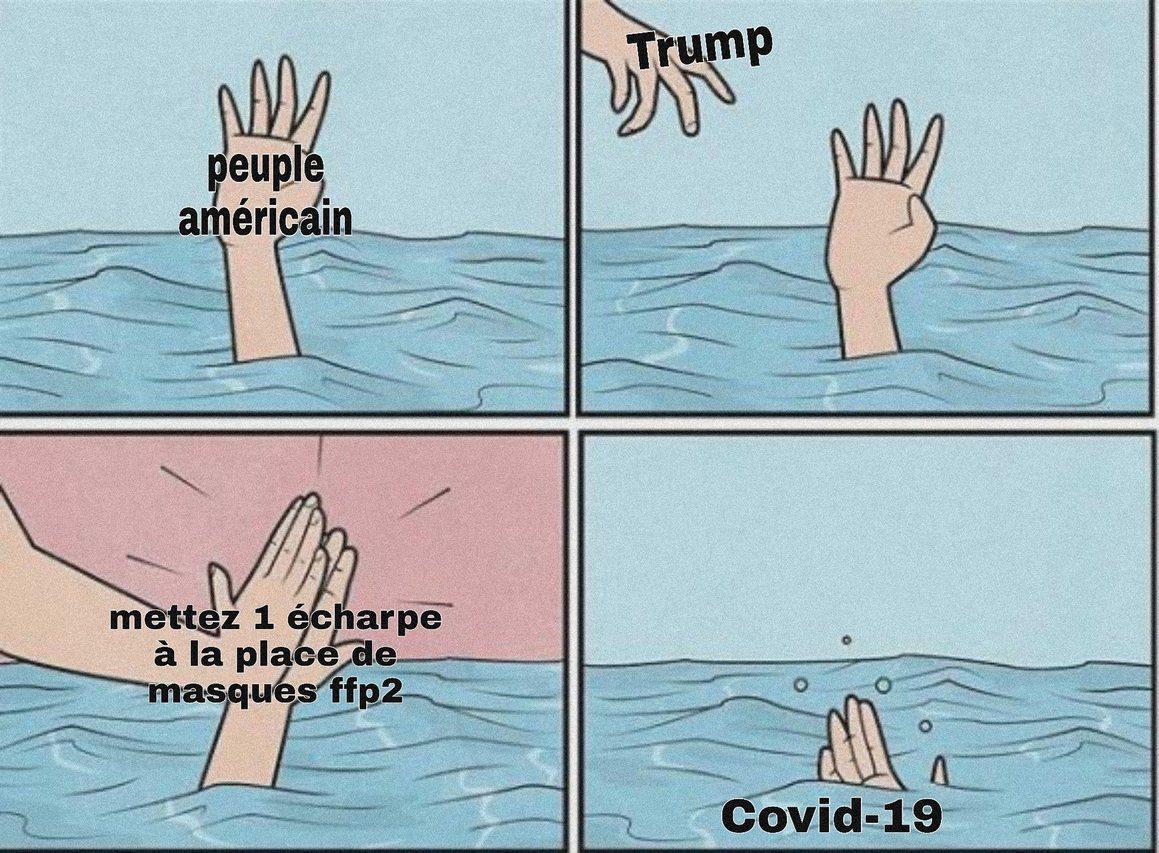 Les bons tuyaux du dr Trump - meme