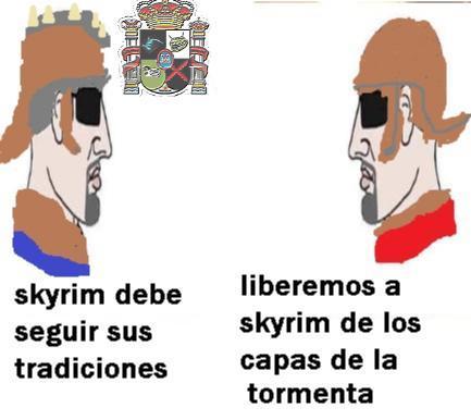 skyrim week - meme