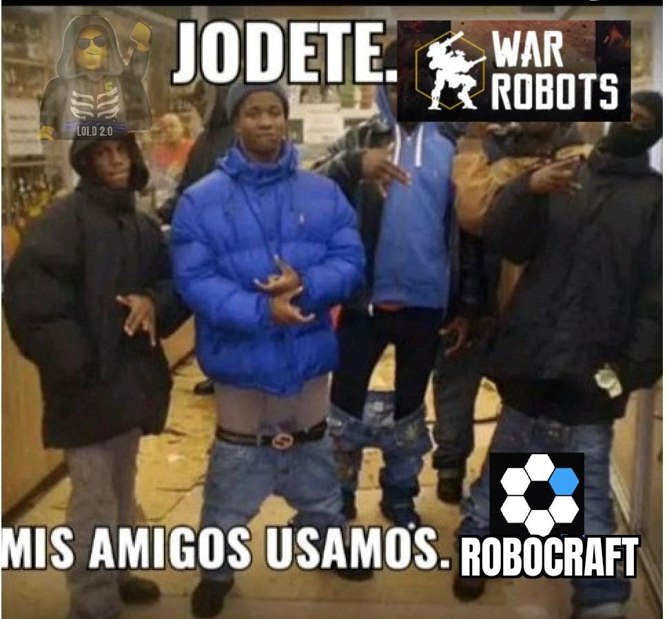 Prueben robocraft está gratis en steam - meme
