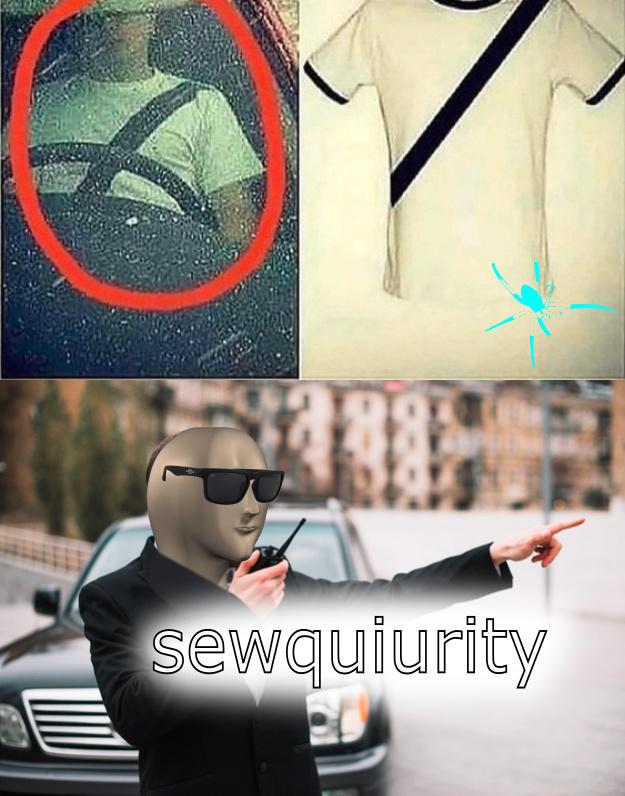 Sewquiurity - meme