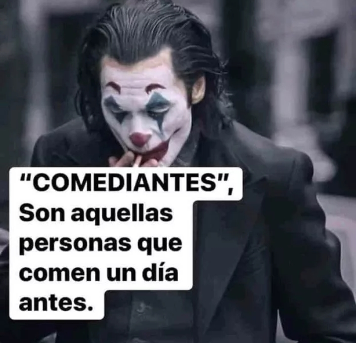 Comediante - meme