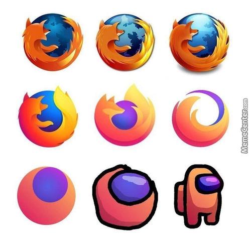 Firefox kinda sus - meme
