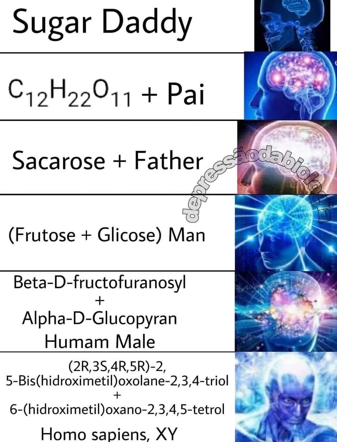 ta no ácido desoxirribonucleico - meme