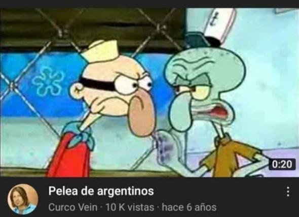 ojalá no se ofendan los argentinos XD - meme