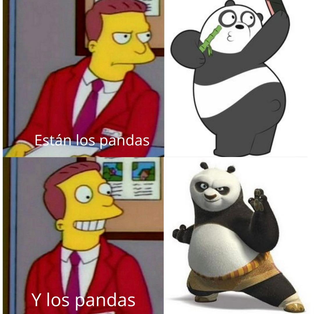 Otro momo anti panda - meme