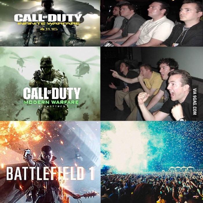 Adeus Call of Duty - meme