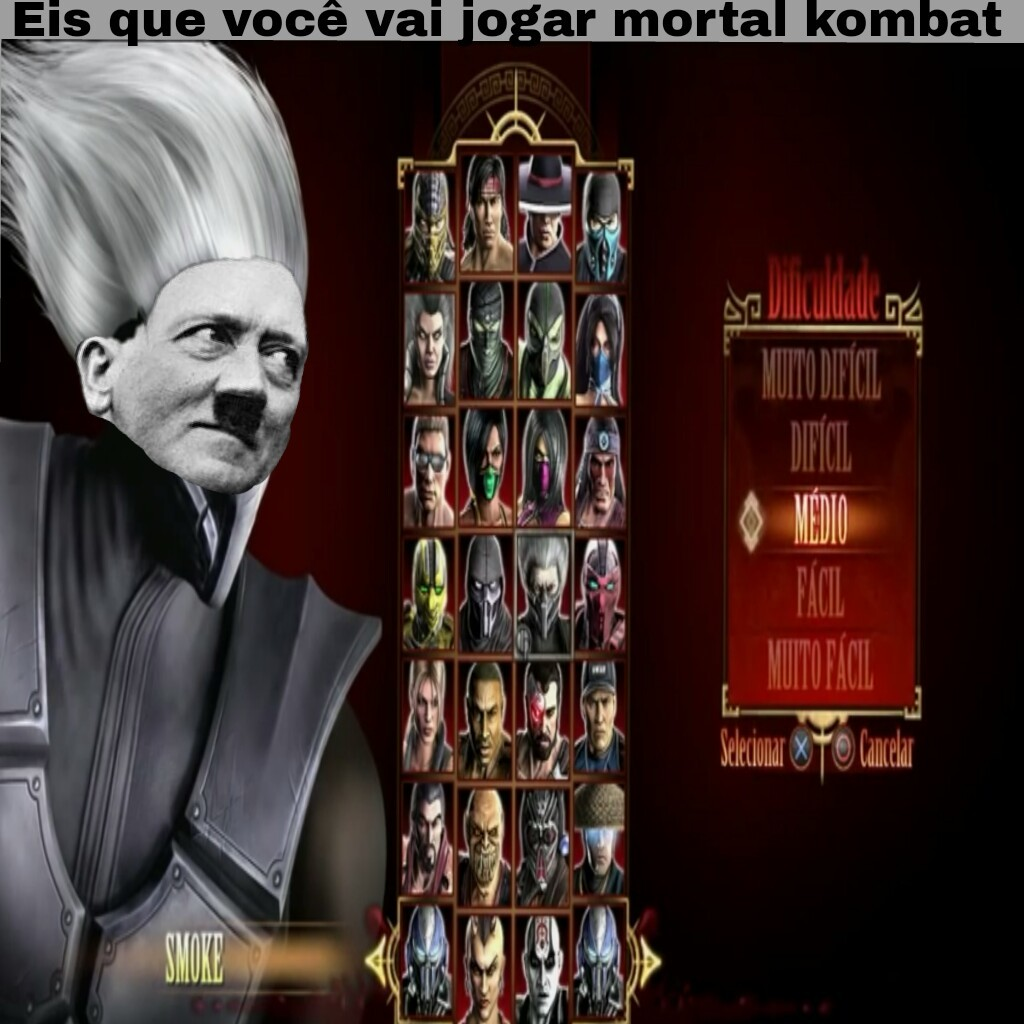 MORTAL CAMARA X - meme