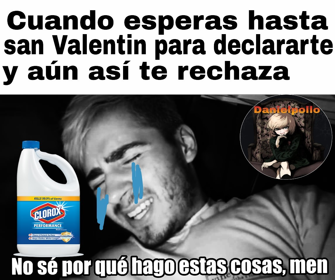Especial de san Valentin - meme