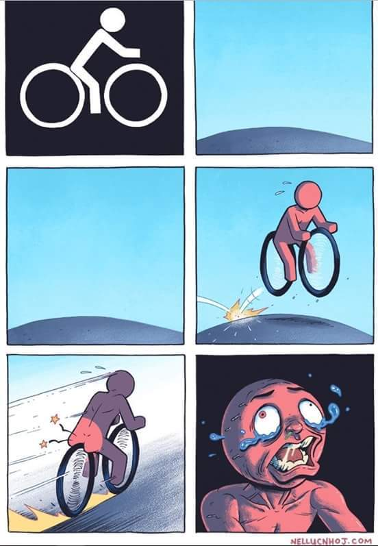 Vélo Simple Efficace - meme