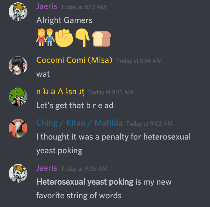 Alright Gamers, Heterosexual Yeast Poking - meme
