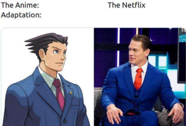 Phoenix Wright - meme