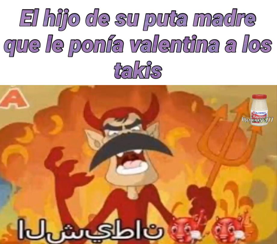 Valentina es una salsa picante - meme