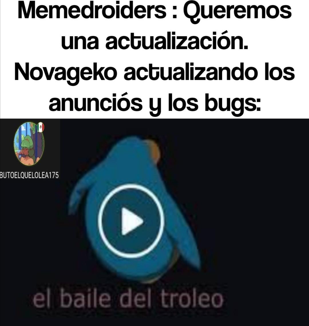Novageko truliador - meme