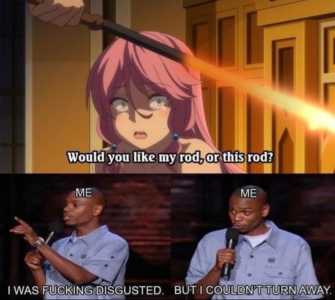 Do not spare the rod - meme