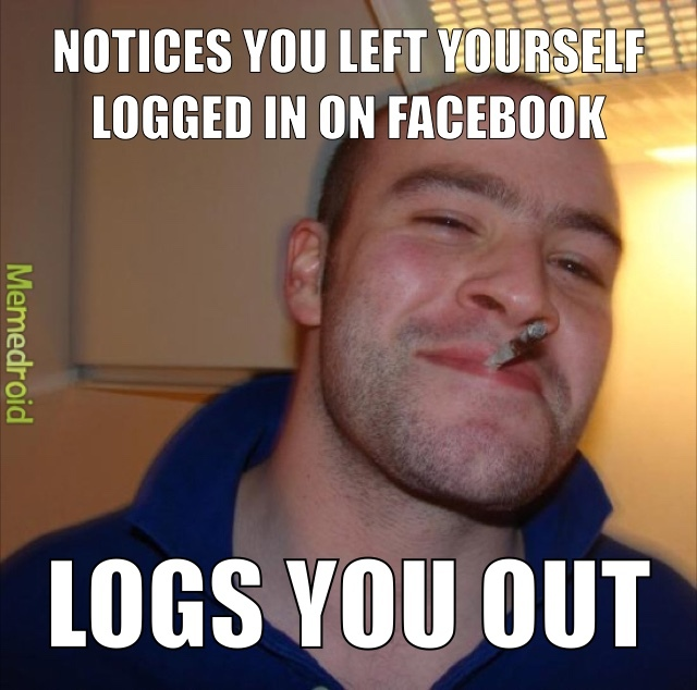 Good Guy Greg - meme