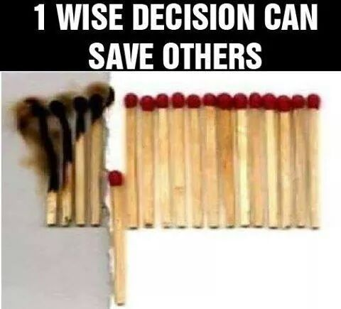 1 Wise Decision - meme