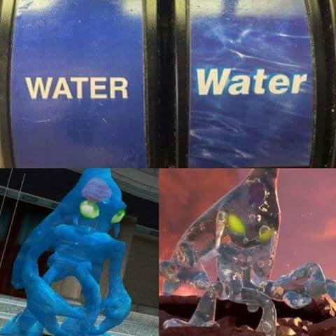 HD water - meme