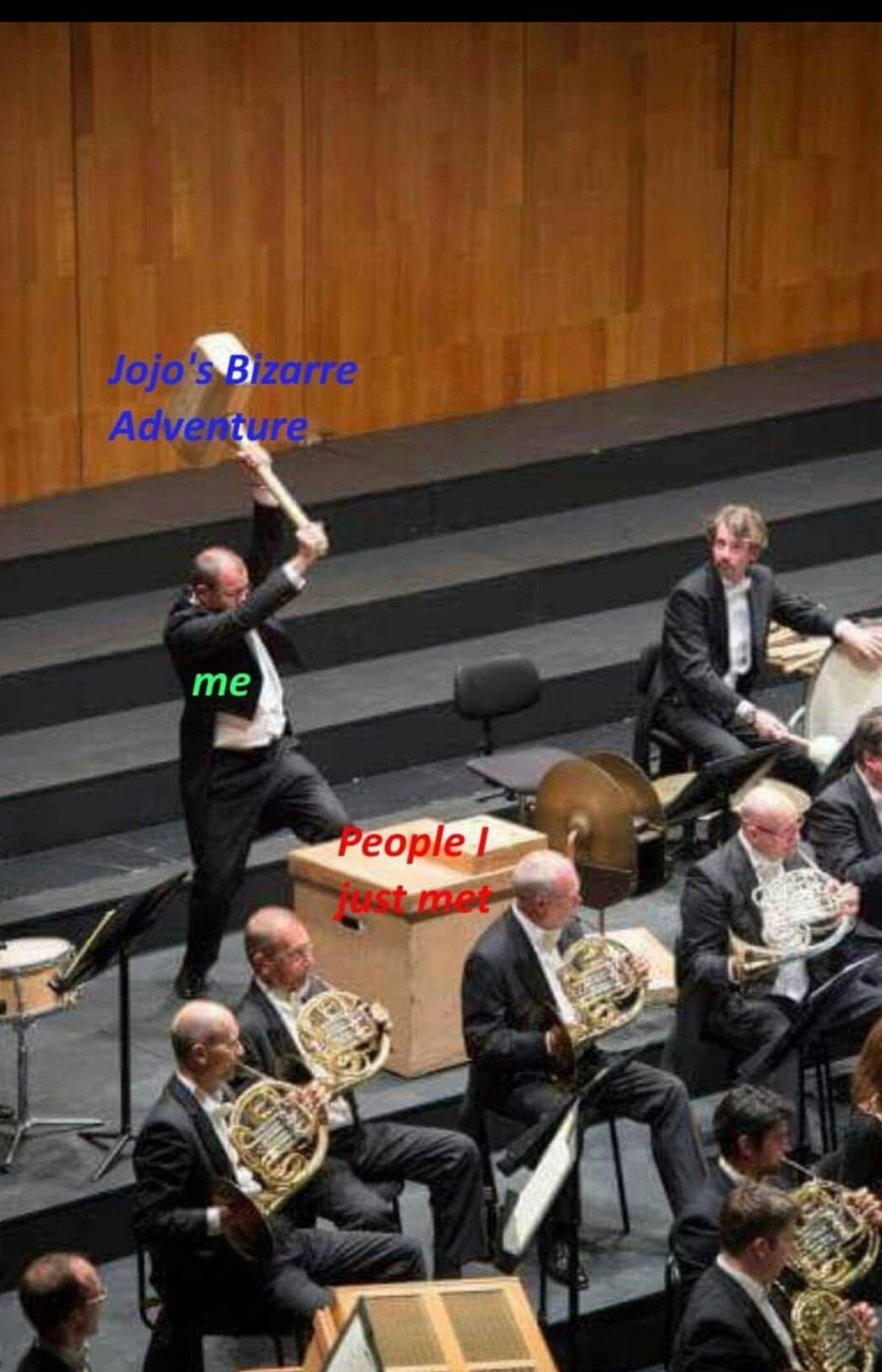 Da warudo - meme