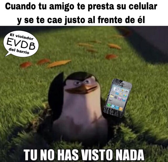 Es un Iphone 4 xd - meme