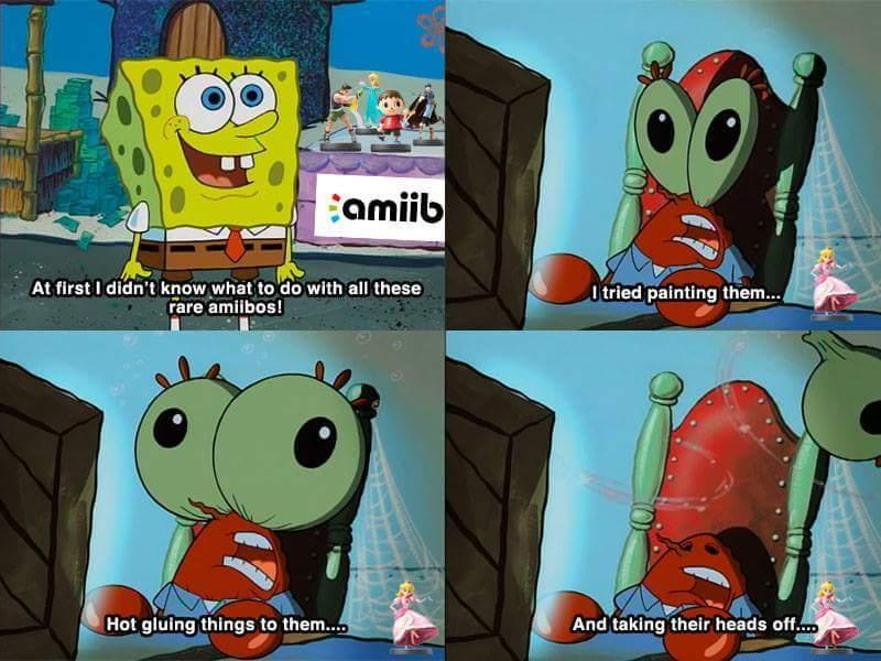 AMIIBO NOOOO - meme