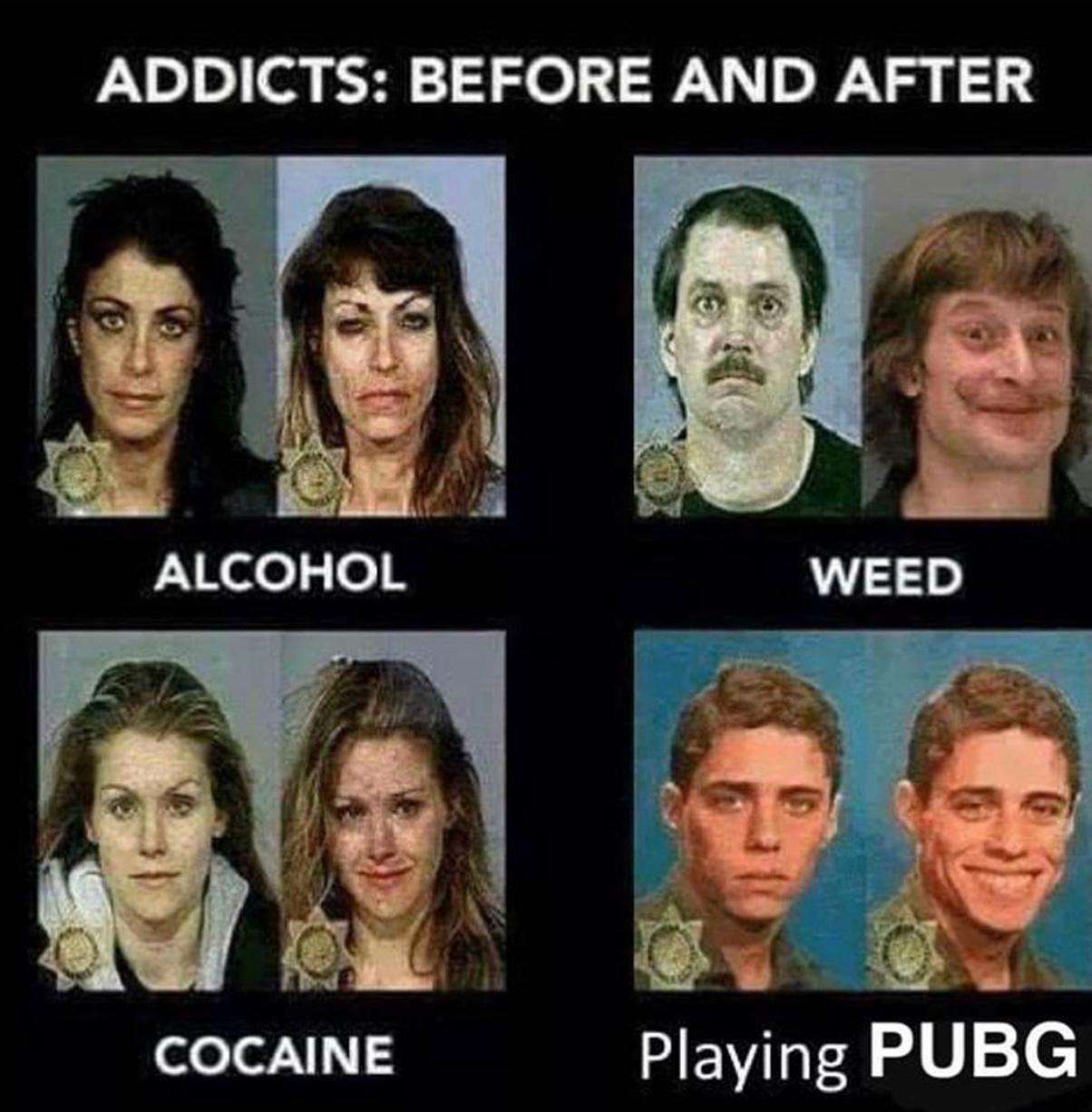 nao usem drogas criancas - meme
