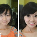 wat asian girls looke like without the makeup