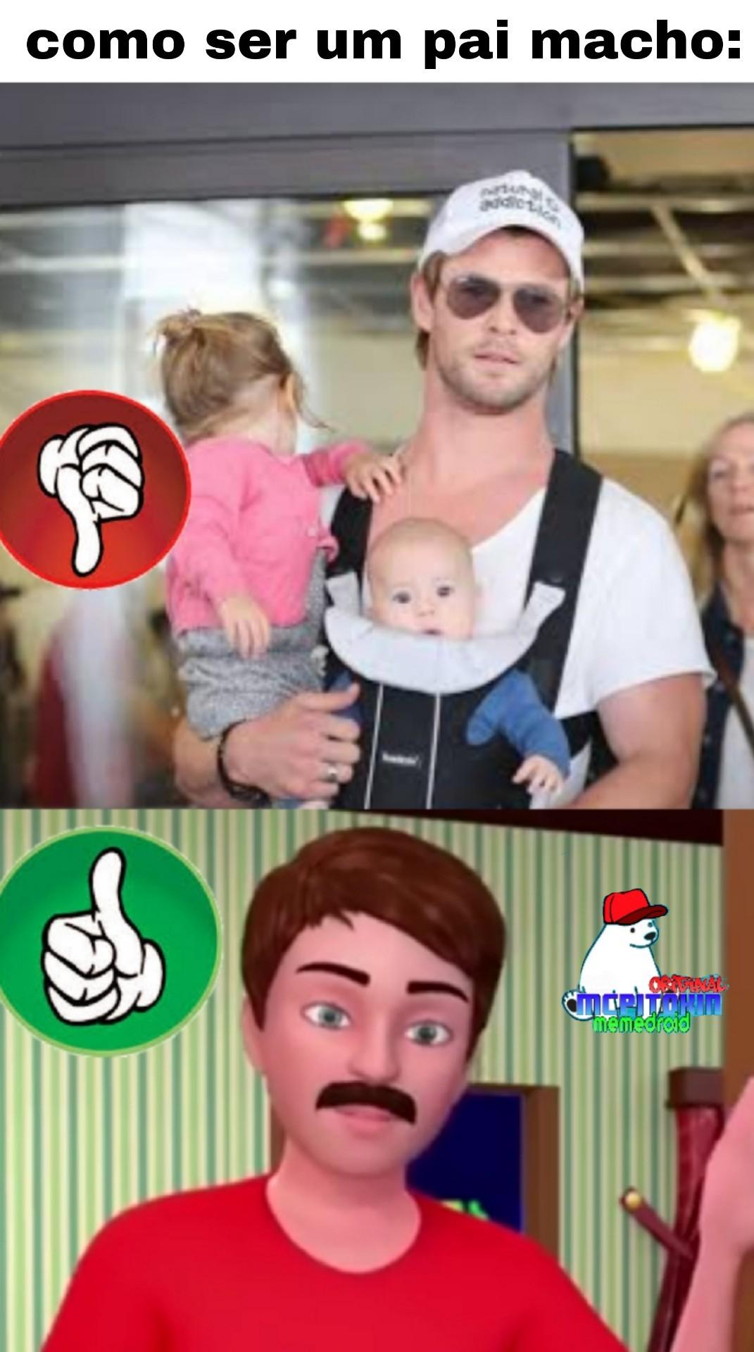 Yes papa macho - meme